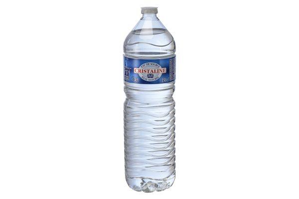 Bouteille Cristaline 1,5 litre