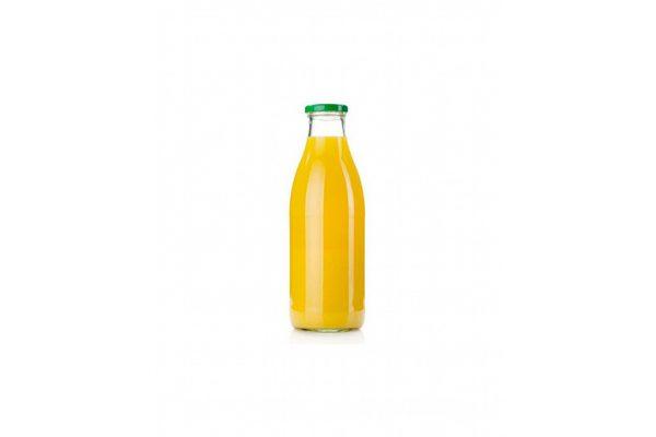 Bouteille jus d'orange 1 litre